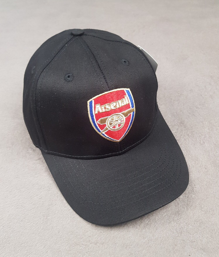 Кепка ФК Арсенал Лондон черная black