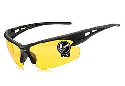 Очки велосипедные Robesbon спортивные велоочки LW Yellow
