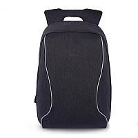 """Городской рюкзак для ноутбука 17"""" Тigernu (Тайгерну), темно-серый цвет"""