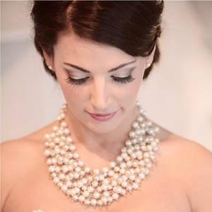 Ожерелья и браслеты из драгоценных камней