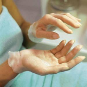 материалы и средства для парафинотерапии