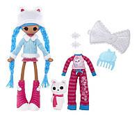 Кукла Lalaloopsy Girls Снежинка с питомцем