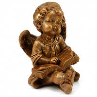 Подарок на крещение. Шоколадный ангелочек c книгой, фото 1