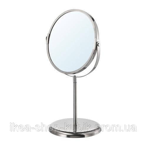 IKEA ТРЕНСУМ Зеркало, нержавеющая сталь (Витринный образец)