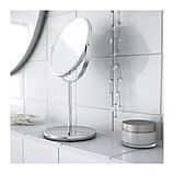 IKEA ТРЕНСУМ Зеркало, нержавеющая сталь (Витринный образец), фото 2