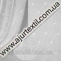 "Тюль кристалон ""Изумруд"" белый, фото 2"