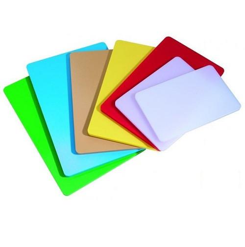 Доска разделочная 40 х 30 х 2,5 см пластиковая