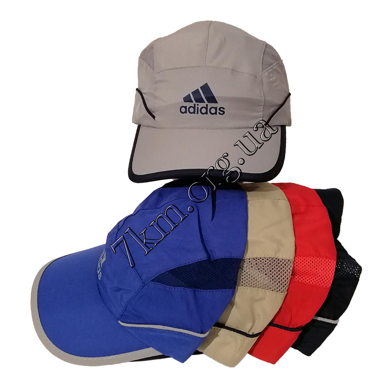 """Кепка дитяча для хлопчиків Репліка """"Adidas"""" 52-54 р. бавовна +сітка Оптом 7946"""