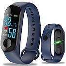 Умный фитнес браслет UWatch Magnetto M3 / в стиле Xiaomi Band 3 / Smart Watch / смарт часы Lefun, чёрный , фото 6