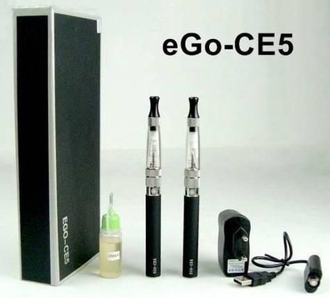Электронная сигарета Vog eGo-CE5 silver №4559, купить , фото 2
