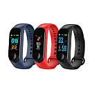 Умный фитнес браслет UWatch Magnetto M3 / в стиле Xiaomi Band 3 / Smart Watch / смарт часы Lefun, чёрный , фото 8