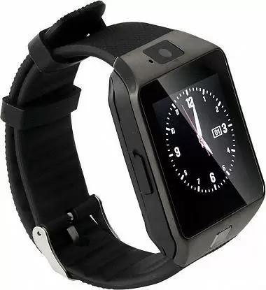 b9031a44 Смарт-часы UWatch DZ09 Black Original - Интернет-магазин ТехноРай в Киеве