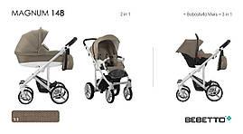 Дитяча коляска 2 в 1 BEBETTO MAGNUM