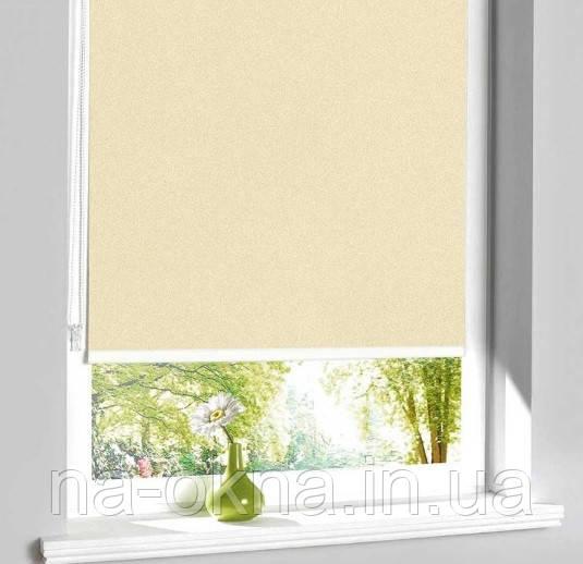 """Рулонные шторы, ткань """"LUMINIS T"""", система Besta UNI-створка (П-образные направляющие)"""