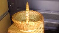 Плетеные корзинки из лозы в наборе (4шт)
