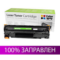Картридж Canon 725, Black, LBP-6000/6020, MF3010, ресурс 1600 листов, ColorWay (CW-C725M)