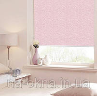 """Рулонные шторы, ткань """" AZALIA """", система Besta UNI-створка (П-образные направляющие)"""