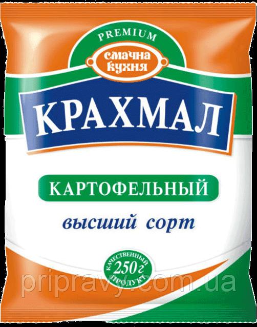 Крахмал картофельный высший сорт ТМ Смачна кухня, 250 г