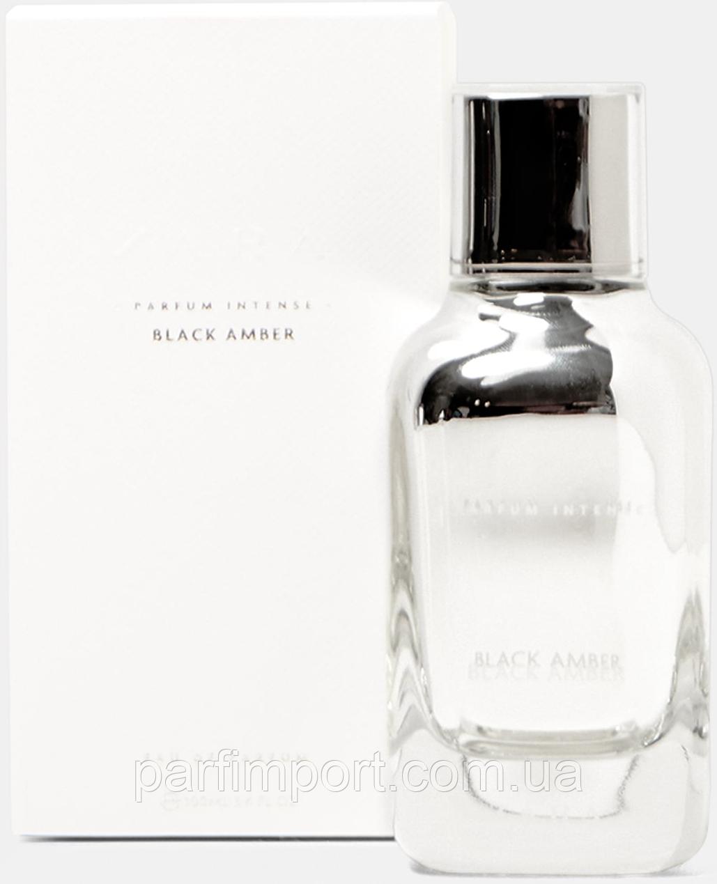 Zara Black Amber Parfum Intense EDP 100 ml (оригинал подлинник Испания)