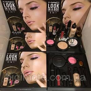 Подарочный набор MAC look in a box 8 в 1 / Лимитированный выпуск, фото 2