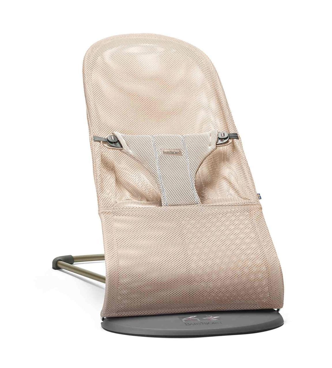 BABYBJORN - Кресло-шезлонг BLISS MESH, цвет жемчужно-розовый