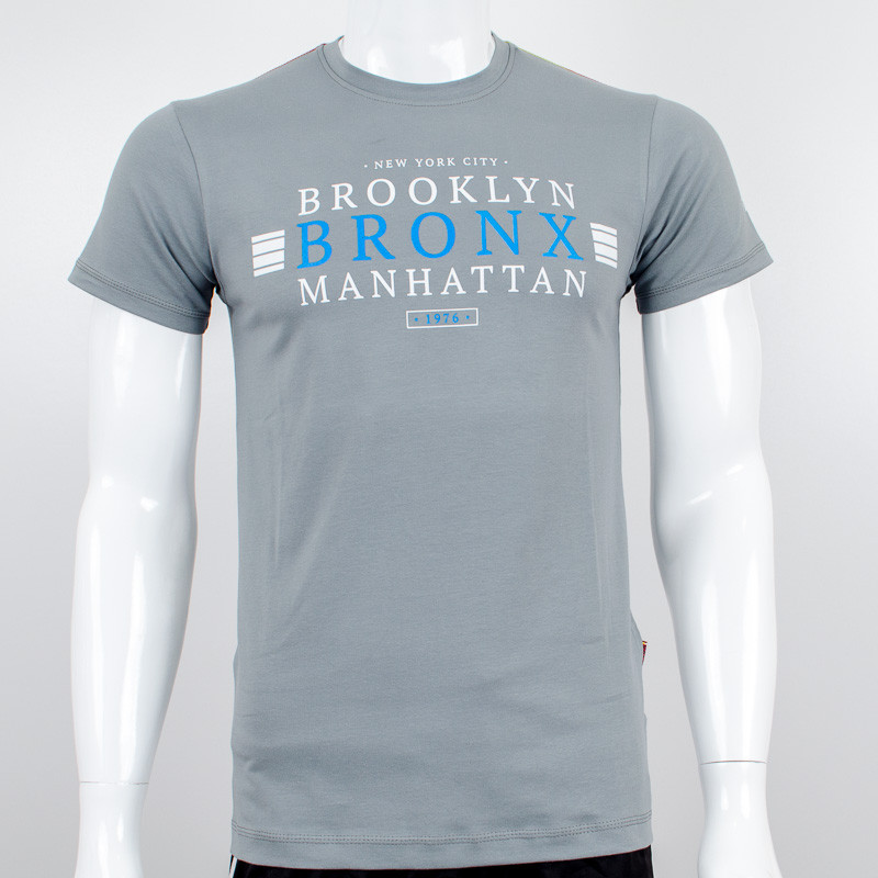 """Молодежная футболка Валимарк, серый, """"Bronx 19035"""""""