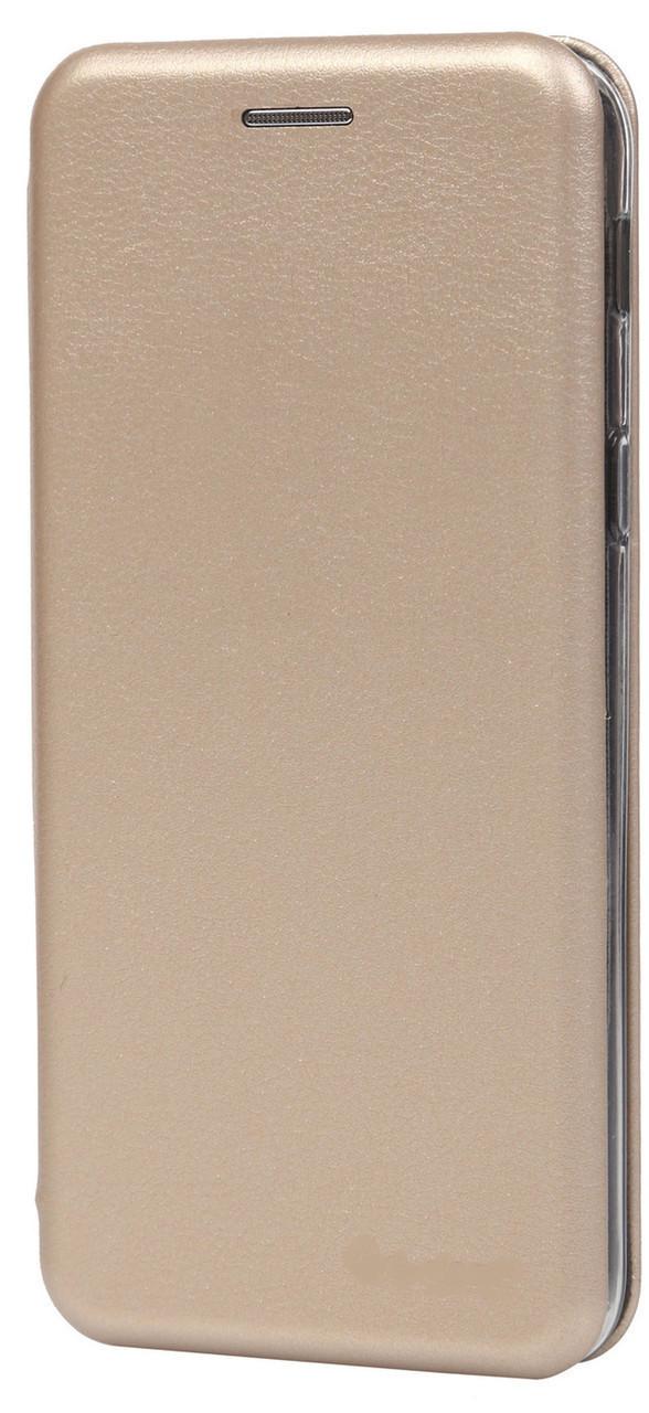 Чехол книжка для Samsung Galaxy A8 2018 (A530) Gold