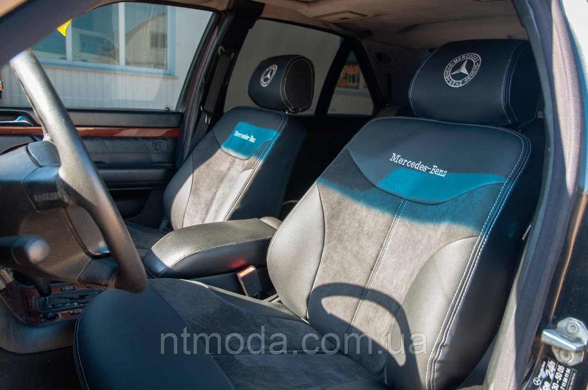 """MERSEDES-BENZ S320 W140 """"Алькантара"""" Модельные авточехлы MILLENNIUM"""