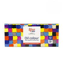 Краски масляные 12*20 мл Rosa Studio