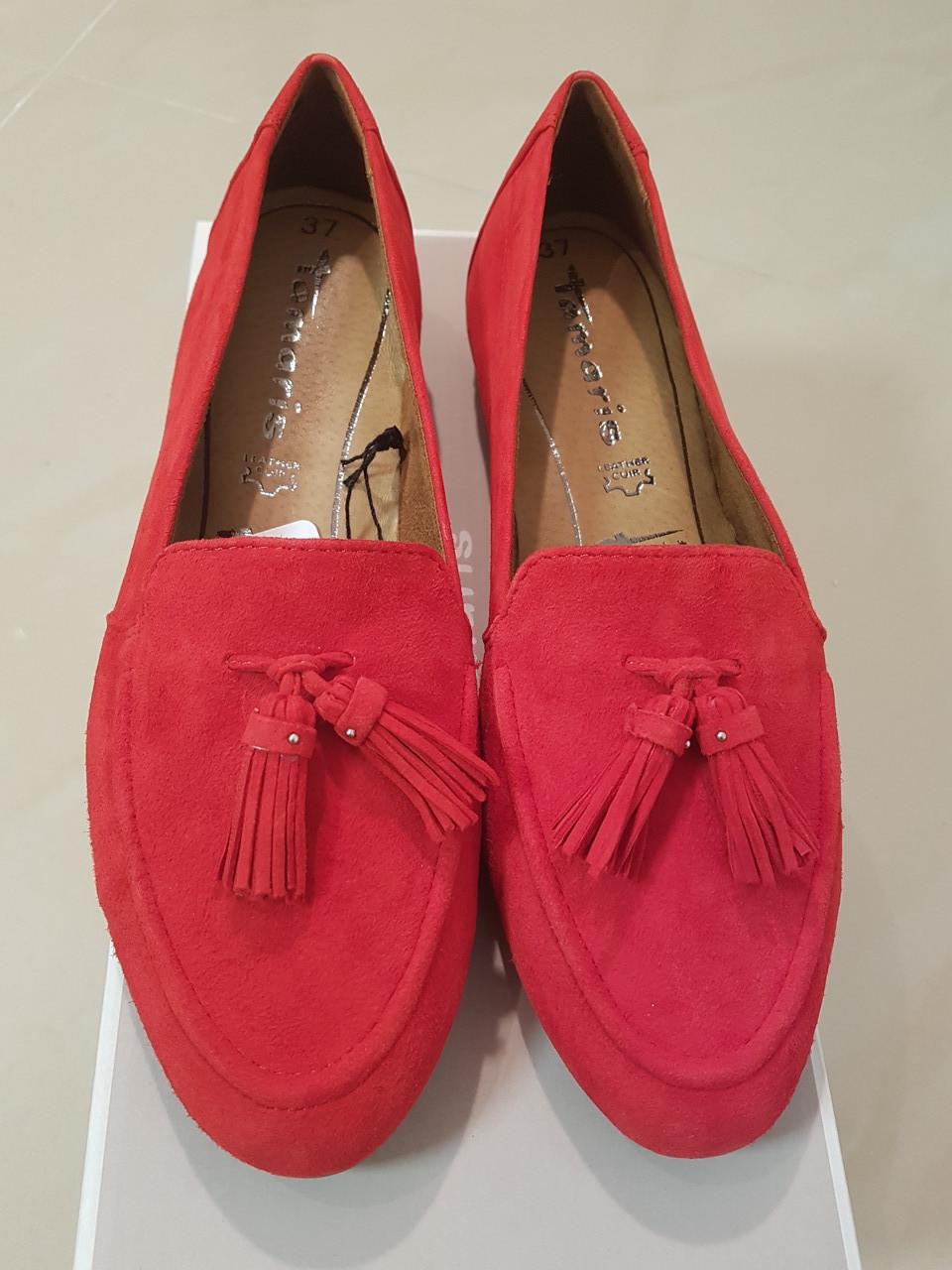 Туфлі жіночі TAMARIS Fire червоні/замш