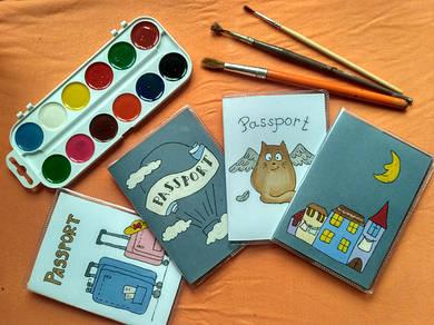 ПВХ обложки для паспорта