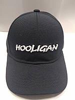 Кепка унисекс черная HOOLIGAN, фото 1