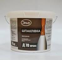 "Шпаклевка Д-75  внутр., белая, 17кг ""Эльф"""