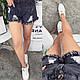 Женские джинсовые шорты гн546, фото 3