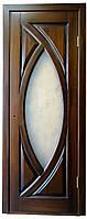 Межкомнатная дверь из массива ольхи или сосны