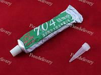 Клей силиконовый 704 герметик термостойкий резина для электроники LED