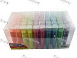 Глиттер декоративные блестки, неоновый 50x5г 6 цветов, для ногтей, фото 2