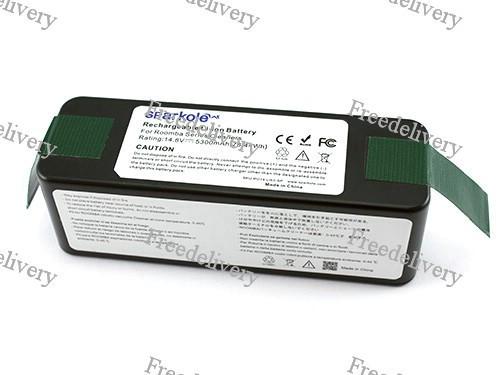 Аккумулятор 5300мАч для роботов пылесосов iRobot Roomba 500 600 700 800 серий