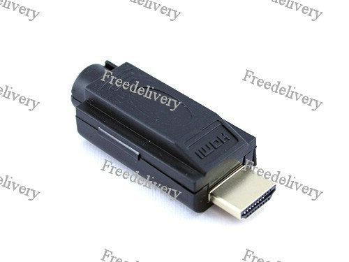 Переходник HDMI 2.0 коннетор штекер папа - клеммники 19pin