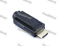Переходник HDMI 2.0 коннетор штекер папа - клеммники 19pin, фото 1