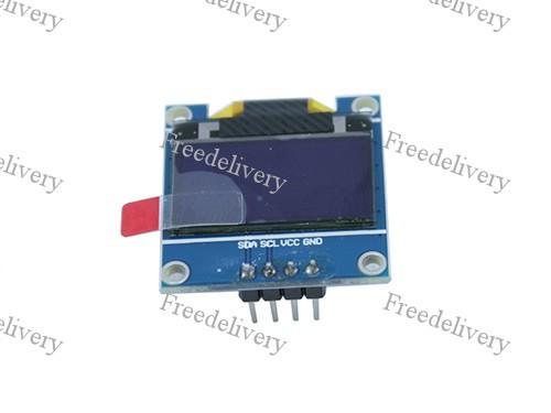 OLED дисплей графический SSD1306 I2C 0.96'' 128x64 Arduino, белый