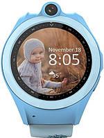Наручные часы UWatch Смарт-часы UWatch Q610 Kid wifi gps smart watch Blue F_52916