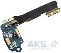 Шлейф для HTC One mini 601n с разъемом зарядки и микрофоном Original