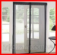 Анти москитная сетка на магнитах для дверей и окон