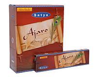 Благовония Аджаро Сатья 45 г (Agarbatti Ajaro Satya)