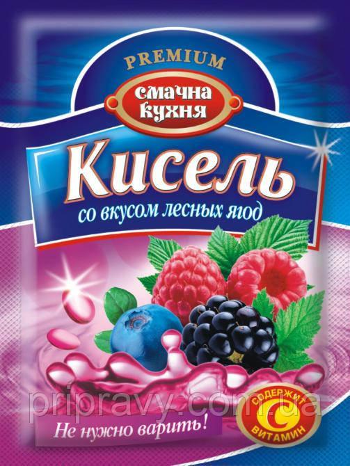 Кисель со вкусом лесных ягод ТМ Смачна кухня, 90 г