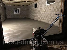 Бетонирование гаража в Днепре с затиркой вертолётом