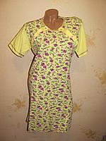 Женская ночная рубашка для беременных и кормлящих, хлопок М(44-46)
