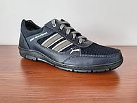 Туфли мокасины мужские спортивные летние сетка на шнурках (код 914), фото 1