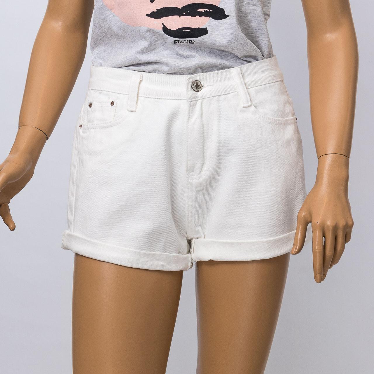 Шорты джинсовые женские ANOTHER CEST MONIQUE 621 WHITE
